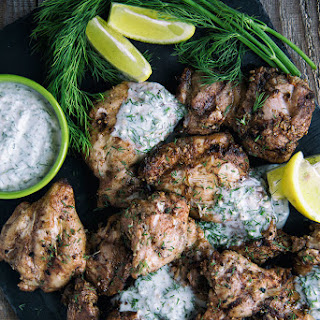 Mediterranean-Style Chicken With Coconut Dill Sauce