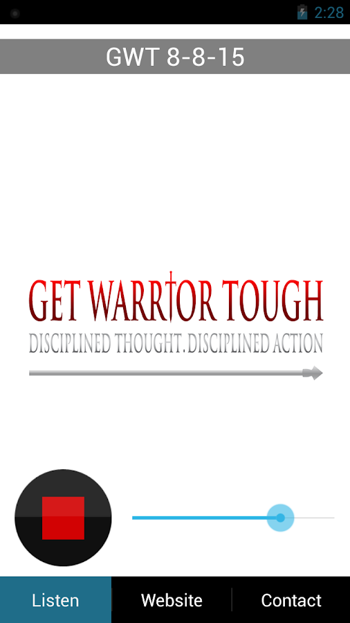 Get Warrior Tough- screenshot