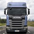 Scania S Series Box & Trailer Truck Wallpaper apk