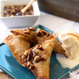 Fried Apple Pie Wontons