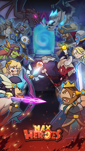 Télécharger Max Heroes - Afk RPG Idle Game APK MOD 1