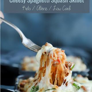 Cheesy Spaghetti Squash Skillet – Keto & Low Carb.
