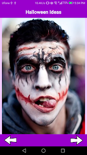 Joker Makeup - Joker Halloween Makeup Ideas - Android Apps on ...