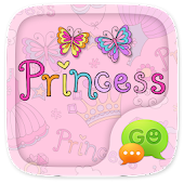 (FREE) GO SMS PRINCESS THEME