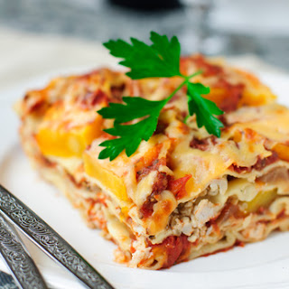 Acorn and Butternut Squash Lasagne