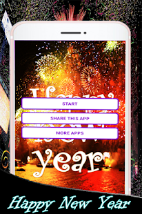 Happy New Year 2018 Frames - náhled