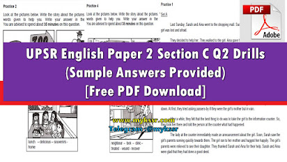 Sample answer essay upsr english paper 2