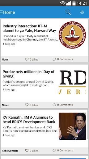 The Alumni App
