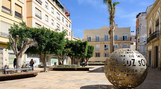 Vista general de la Plaza Careaga después de la actuación realizada con fondos DUSI