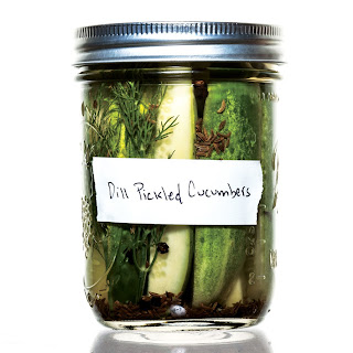 Classic Dill Pickles.