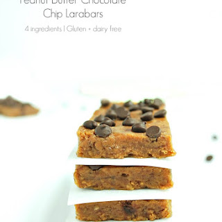4 Ingredient Peanut Butter Chocolate Chip Larabars