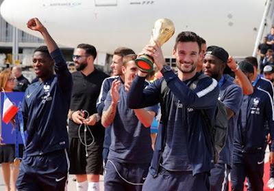 La règle sacrée enfreinte par l'Equipe de France après la victoire en Coupe du Monde