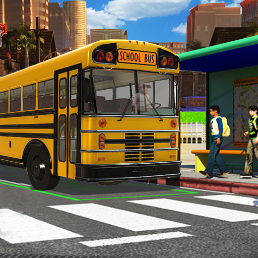 City School Bus Drive 3D: SchoolBus Driving 2018 game (apk) free download for Android/PC/Windows