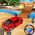 Impossible Car Stunt Driving - Ramp Car Stunts 3D icon