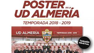 Consigue el póster del Almería con LA VOZ.