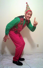 Photo: Hire an ELF! SUPER FUN visits from a super sized efl! Elf singing telegrams and MORE - call 214 321 8118