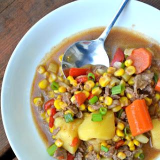 Southwestern Beef Stew.
