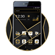 Free Download Luxury Gold Black Business Theme APK for Samsung