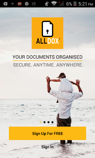 ALLDOX - DOCUMENTS ORGANISED- screenshot thumbnail