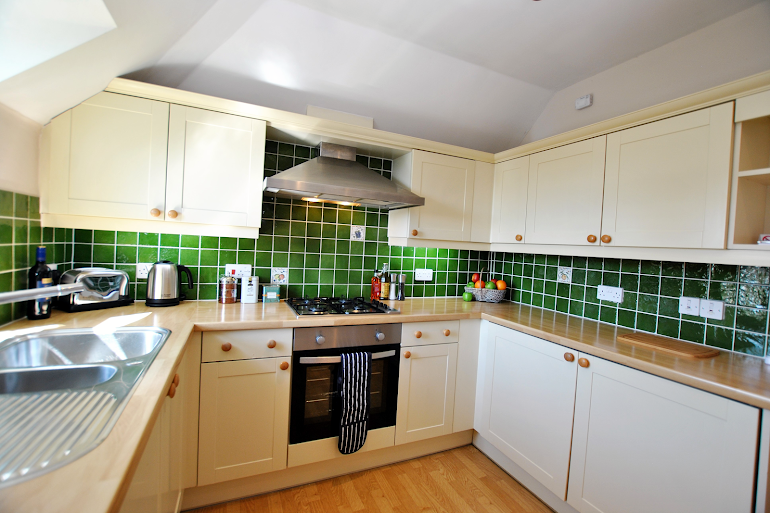 Fully equipped kitchen at Lord Raglan House