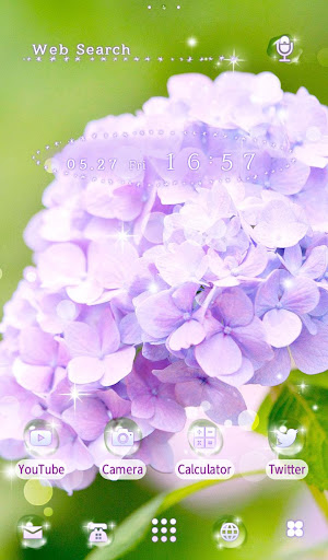 Flower Wallpaper Hydrangea 1.0.0 Windows u7528 5