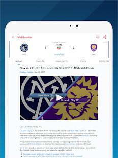 MLS Soccer Scores & Highlights- screenshot thumbnail