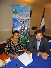 Photo: Firma de acuerdo marco entre Renovables y EcoRessources para venta de bonos de carbono en el sector hidro en Nicaragua