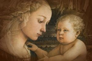 Filippo Lippi, Galería de los Ufizzi, Florencia