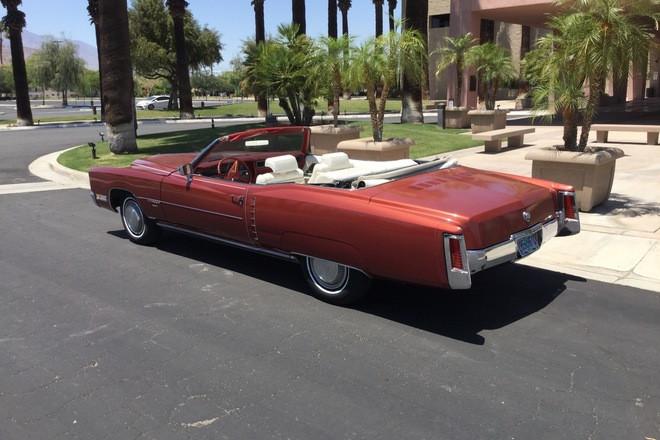 Gorgeous 1971 Cadillac Eldorado convertible Hire California