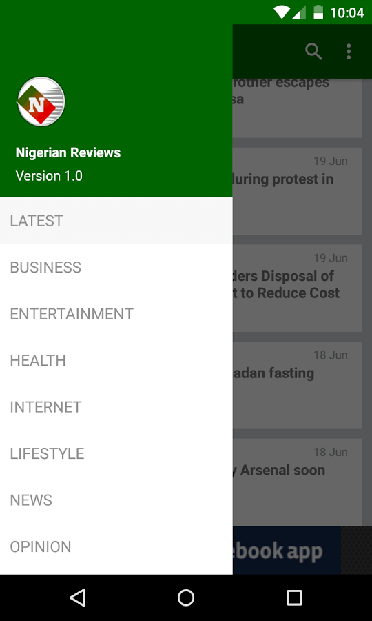 Nigerian Reviews- screenshot