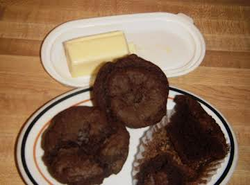 no egg easy chocolate muffins