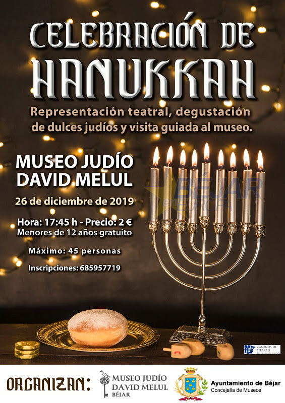 Celebración de HANUKKAH en Béjar