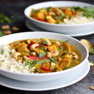 Instant Pot Sweet Potato Chicken Curry.