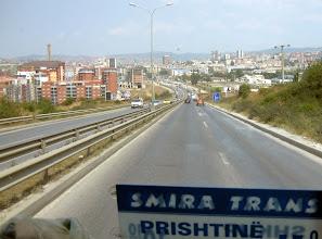 Photo: Ensimmäiset näkymät Pristinasta
