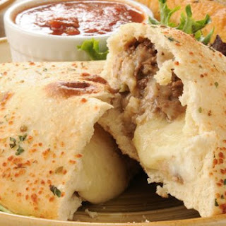 Cheesesteak Calzone