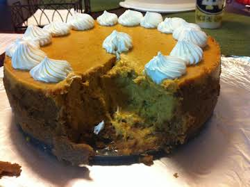 Heavenly Pumpkin Cheesecake