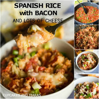 Easy Spanish Rice with BACON.
