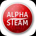 Alpha Steam icon