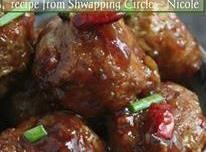 General Tso's Meatballs Recipe