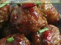 General Tso's Meatballs Recipe
