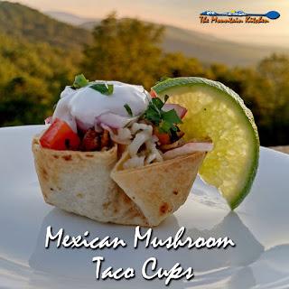 Mexican Mushroom Taco Cups