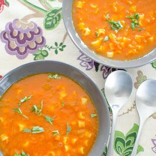 Tomato and Pasta Soup Recipe