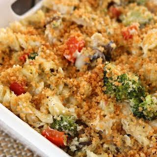 Creamy Chicken Broccoli Casserole.
