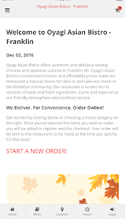 Oyagi Asian Bistro - Franklin- screenshot thumbnail