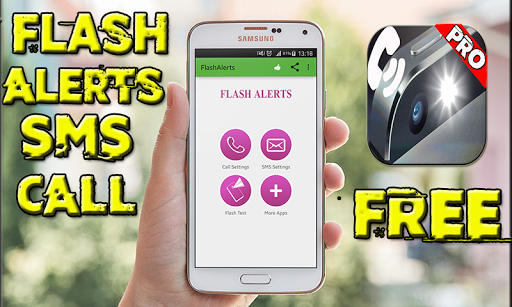 Flash Alerts SMS Call – Free