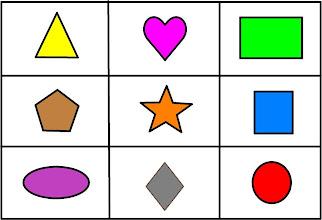 Photo: cartas bingo figuras