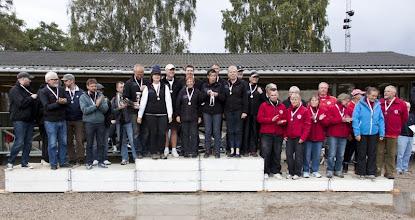 Photo: Vinder af 2. Division 2 Lynge Petanque klub - Sølv til KpK og bronze til Kirke Såby.