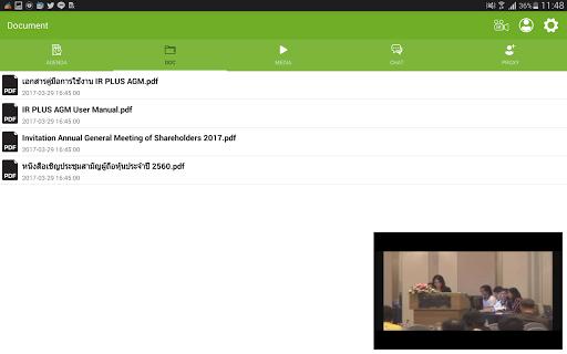 IR PLUS AGM screenshot 8