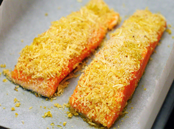 Baked Fish With Cheese Crust Recipe