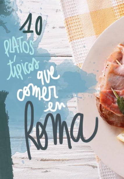 platos tipicos que comer en Roma